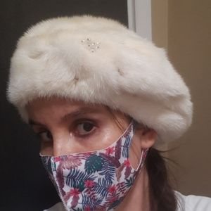 Mink beret *From Russia with love